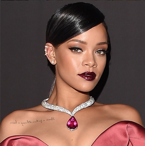 RIHANNA WEARING CHOPARD AND REPOSSI JEWELRY - Image source: http://instagram.com/chopard